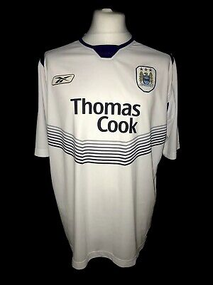 Manchester City 2004-05 Away Vintage Football Shirt - Very Good Condition