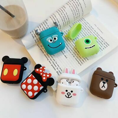 For Apple Airpods Charging Case Cute Disney Minnie Mickey Earphone Airpod Cover