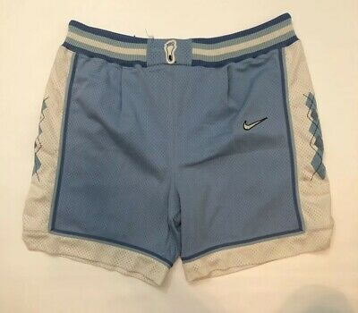 1bcc919230556e Vtg Nike UNC North Carolina Tar Heels Authentic Basketball Shorts NCAA  Jordan