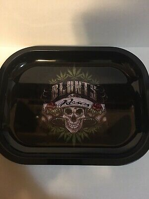 TOBACCO WEED GANJA 420 IRON ROLLING TRAY PLATE Blunts