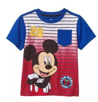 Disney Mickey Mouse Graphic T Shirt  Toddler Boys Size 3T
