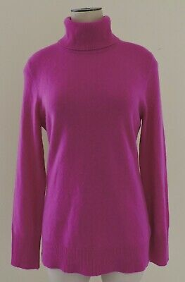 Alex Marie Large Mint Rachel Sweater 100/% Cashmere Ribbed NWT Mock Turtleneck L