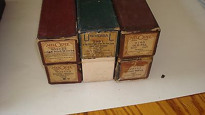 "Player Piano Roll 6 Lot ""Jigs and Reels"",""If he can fight like he can love...."""