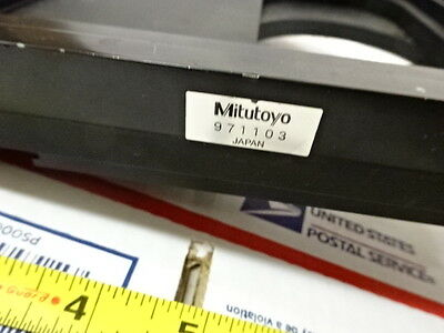 Stage Specimen Table Micrometer Microscope Spare Mitutoyo Ultraplan As Is B#Tb-1