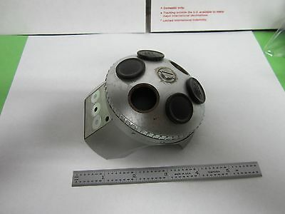 Optical Microscope Part Zeiss Germany Nosepiece Turret Optics Bin#H8-L-06