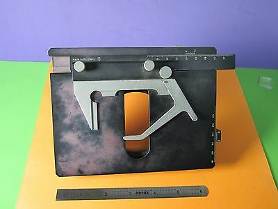 Microscope Part Dialux Leitz Germany Stage Slide Micrometer As Pictured Bn#36
