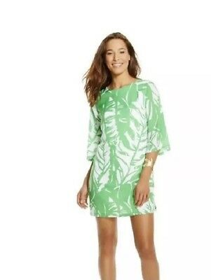 6ec9636e7d03 LILLY PULITZER for Target Size XS Green Palm Boom Boom Shift Dress