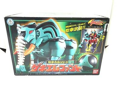 Power Rangers Bandai Original Jungle Fury Geki Elephant Zord Megazord loose