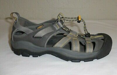 b5a0532cb506 Keen Owyhee Men s Dark Shadow Gray Athletic Sport Sandals Size 9.5   42.5  EXCLNT