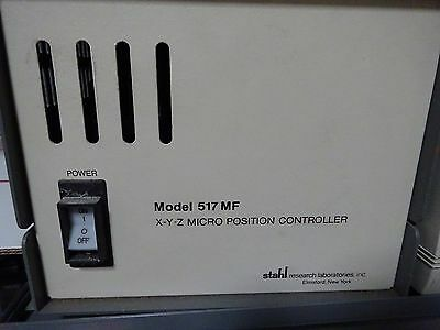 Micro Positioning Controller Stahl Xyz Model 517 Mf Power Supply As Is Bin#tc-3