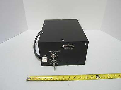 Power Supply For Argon Laser Jds Uniphase 2211 Optics As Pictured Bin#Ta-3