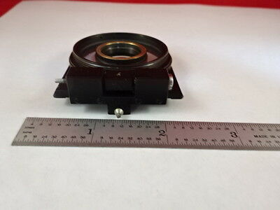 Microscope Part Zeiss Polarizer Objective Holder Pol Optics As Is #X6-B-15