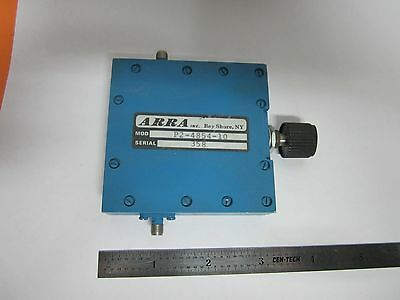 Arra Variable Attenuator Rf Microwave Frequency #1E-P-11