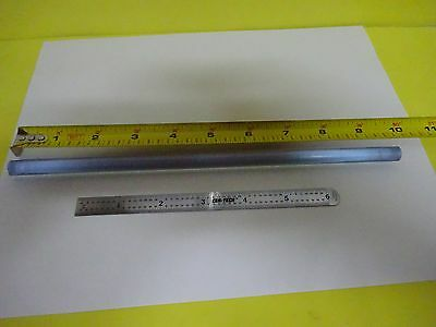LARGE OPTICAL GLASS ROD LASER [ chipped ends] OPTICS AS IS BIN#5-DT-W