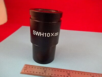 Microscope Part Meiji Techno Japan Eyepiece Ocular Swh10X/22 Optics #x6-B-54