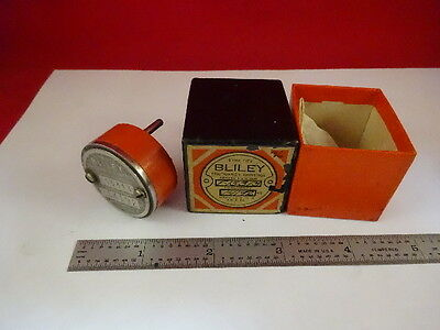 Antique Bliley Electric Quartz Crystal Hf2 Frequency Control As Is #M2-B-56