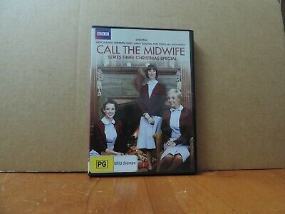 call the midwife series three  christmas special dvd like new