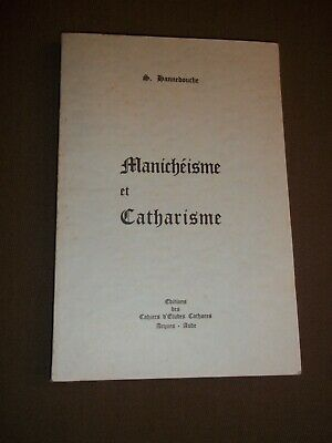 Manicheisme Et Catharisme (1967) Hannedouche (S.) Cathare / Albigeois**
