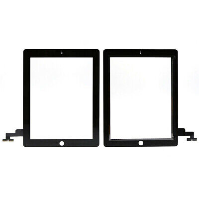 Beauty Black Front Panel Touch Screen Digitizer Glass Replacement for iPad 2