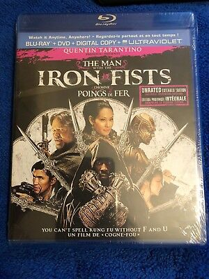 The Man With The Iron Fists Blu-ray LAST TWO  FAST SHIP