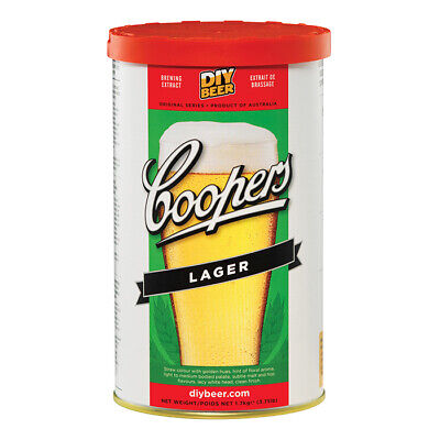 Coopers Original Lager Beer Extract 1.7kg - Home Brew