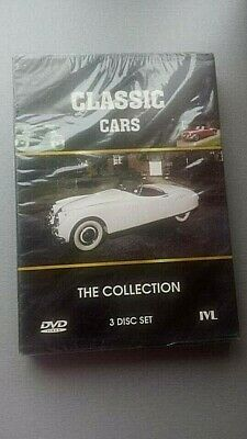 Classic Cars The Collection 3 Disc Set - Mint Sealed - Brand New 3 Dvd