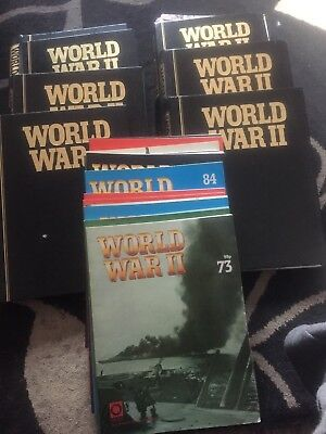 History Of World War 2 Collection 6 Volumes 1 Magazine Missing