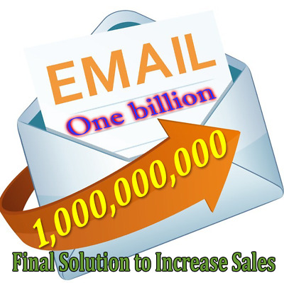 ONE BILLION Valid & Effective Emails for Marketing , Referrals , Visitors ,Views
