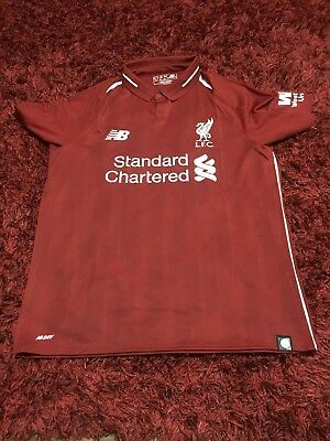 New Without Tags Youths Age 13 Liverpool FC Football Shirt