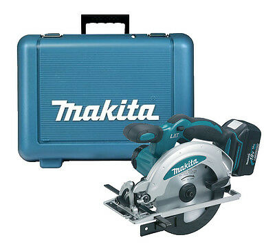 Makita DSS611 18v Circular Saw + 1 BL1830 Battery Lithium Ion CE + CARRY CASE