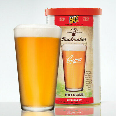 Thomas Coopers Bootmaker Pale Ale 1.7kg - Home Brew