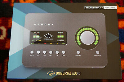 UNIVERSAL AUDIO ARROW 2x4 Thunderbolt 3 Interface with Solo DSP