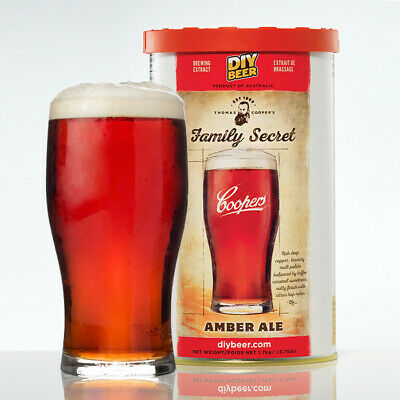 Thomas Coopers Family Secret Amber Ale 1.7kg - Home Brew