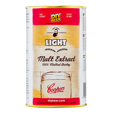Coopers Malt Extract Light 1.5kg - Home Brew
