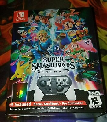 Super Smash Bros. Ultimate Special Edition Nintendo Switch Brand New Sealed