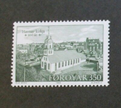Bicentenary of Torshavn church stamps, 1989, Faroe Islands, SG ref: 174-176, MNH