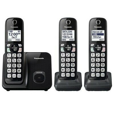 Panasonic KX-TG6571R  DECT6.0 Cordless Home Office Phone with  Answering Machine