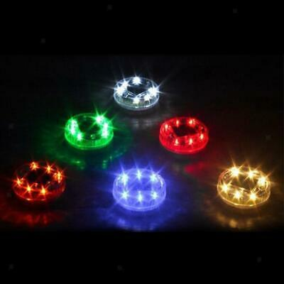 4x Solar LED Lamp RGB Outdoor Floating Pond Night Light Swimming Pool Lights