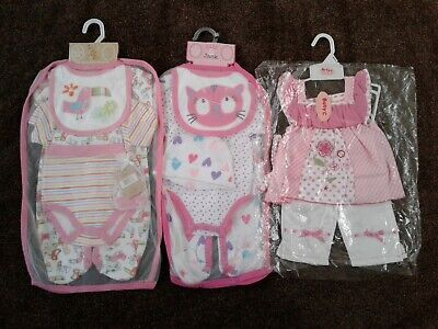 Bundle of baby girls clothes 0-3 months Bnwt