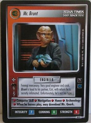 STAR TREK CCG MIRROR MIRROR RARE CARD MR QUARK