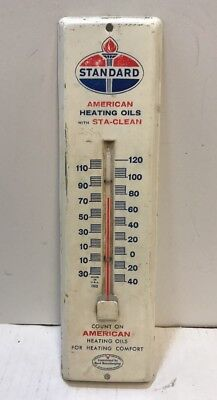 Vintage Standard Gas / Oil Thermometer