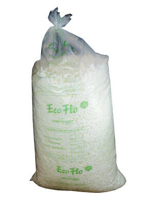 Ecoflo Loose Fill 60 Cubic Ft Bag Of High Grade Quality Biodegradable Peanuts
