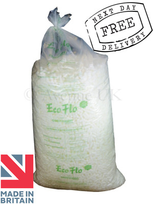 75 Cubic Ft Bag Of Ecoflo Loose Fill High Grade Quality Biodegradable Peanuts