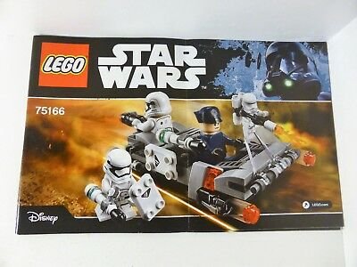 LEGO Star Wars 75166 First Order Transporter Speeder - Instruction Manual ONLY