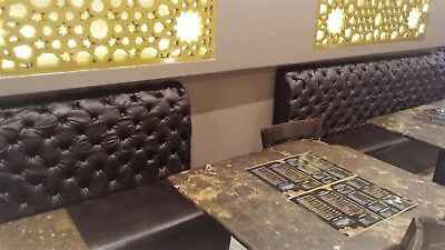 Fixed bench/booth seating for restaurants/clubs/bars/cafe's Bespoke
