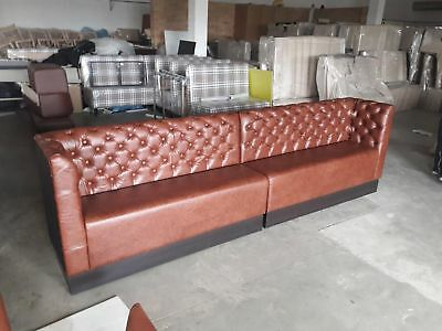 classic seating sofa bench booth vintage chestefield restaurant cafe bespoke