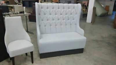 NEW classic seating sofa bench booth vintage chestefield restaurant cafe