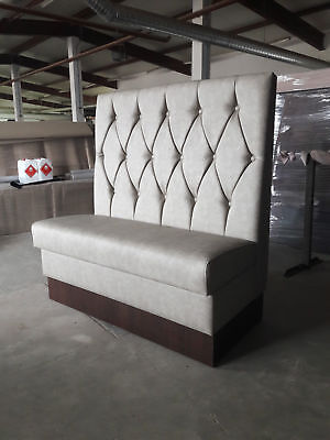 Upholstered Restaurant Club Cafe Reception Pub Bench Booth Seating sofa