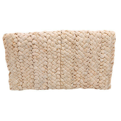 Summer Square Straw Square Hand Woven Women Clutch Bag Purse Bags Weave LH