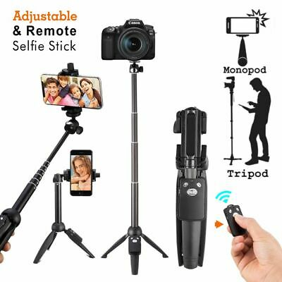 Selfie Stick For Iphone 7 8 X Xs Max Tripod Bluetooth Shutter Extendable Monopod